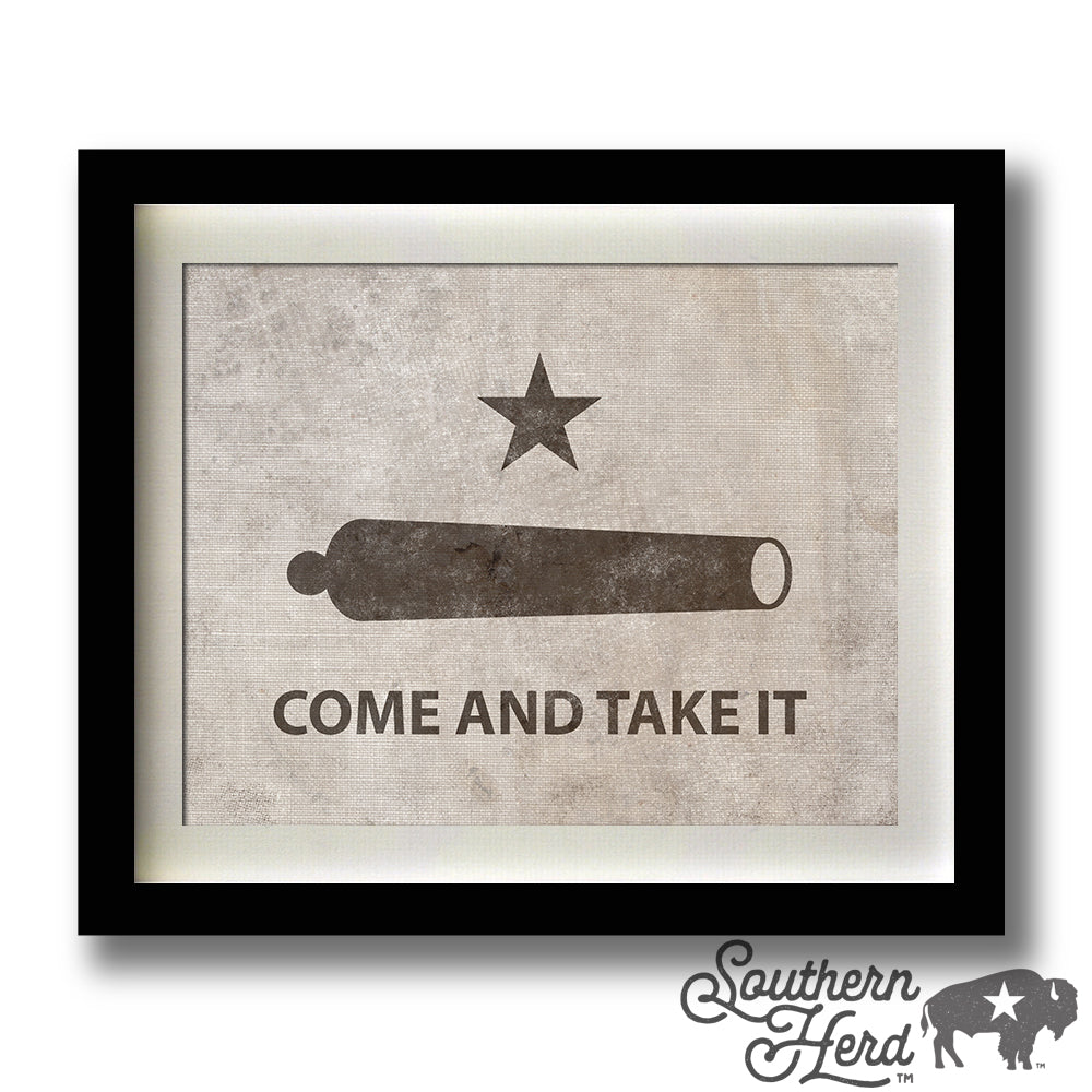 Battle of Gonzales (COME & TAKE IT)