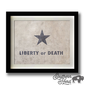 Liberty or Death Flag
