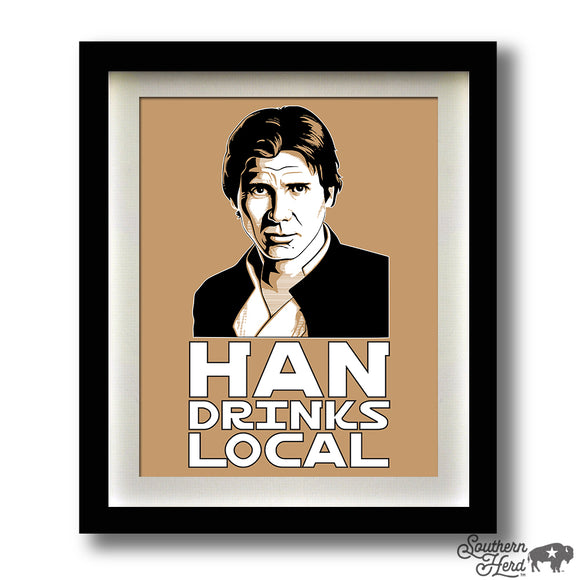 Han Drinks Local