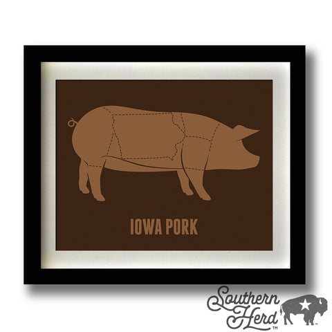 Meat Cut - Iowa Pork