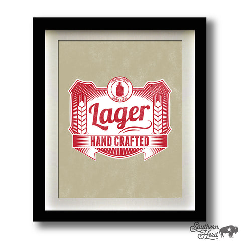 Hand Crafted Lager