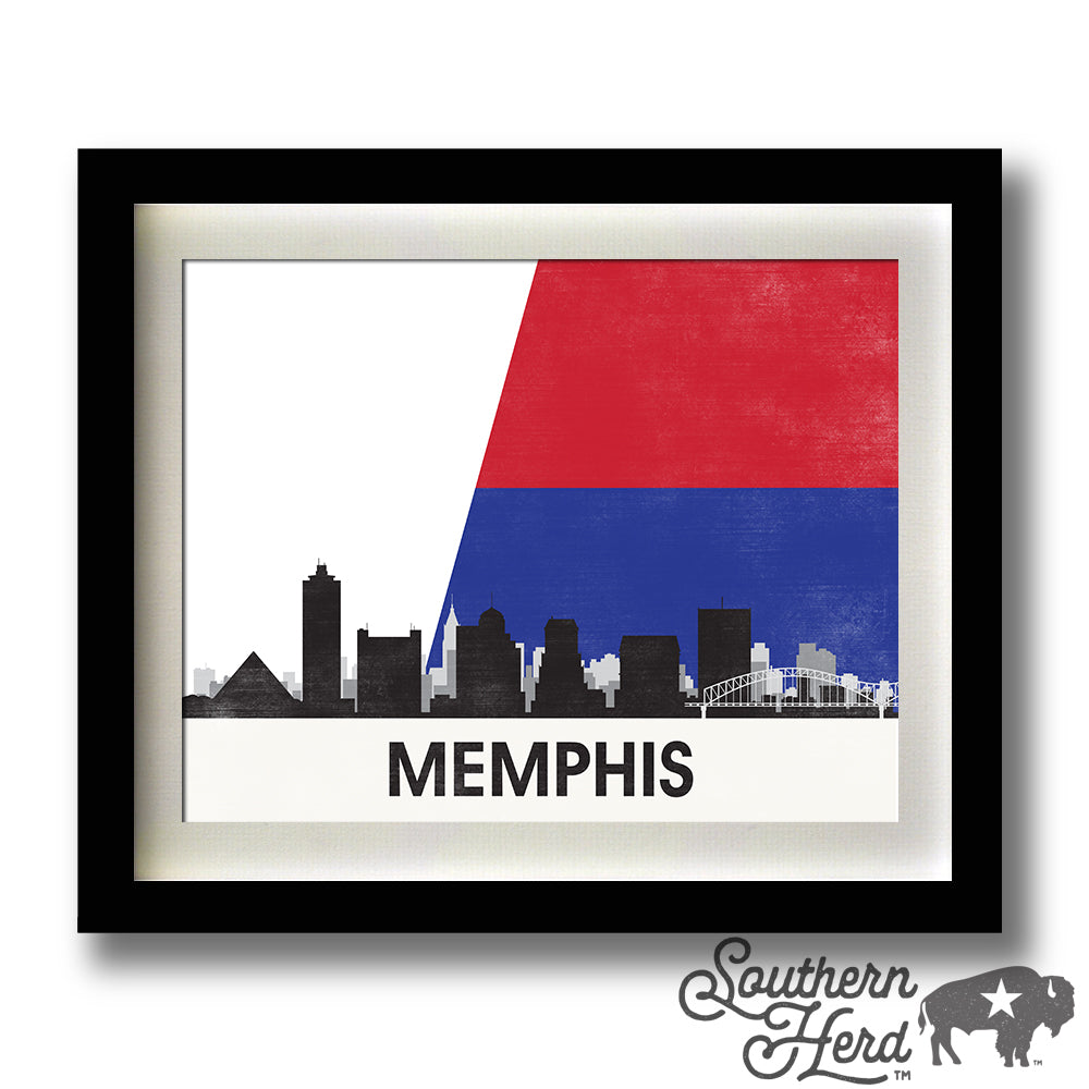 Memphis Skyline City Flag