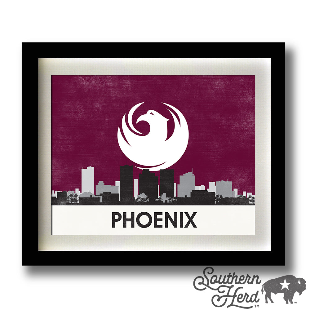 Phoenix Skyline City Flag