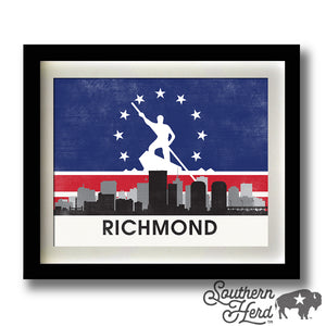 Richmond Skyline City Flag