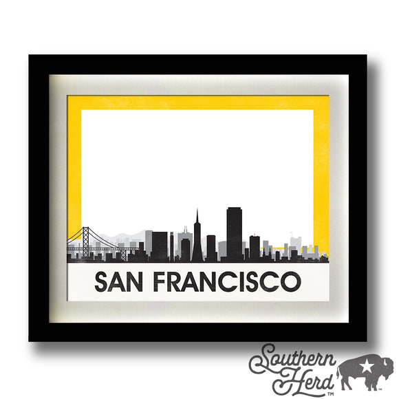 San Francisco Skyline City Flag