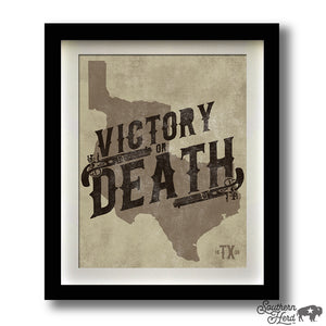 Victory or Death Texas 1836