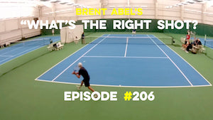 """WTRS?"" #206 - does the backhand passing shot in singles always have to be a topper?"