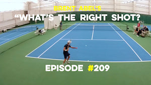 """WTRS?"" #209 - are you making this mistake with your topspin forehand rally ball?"