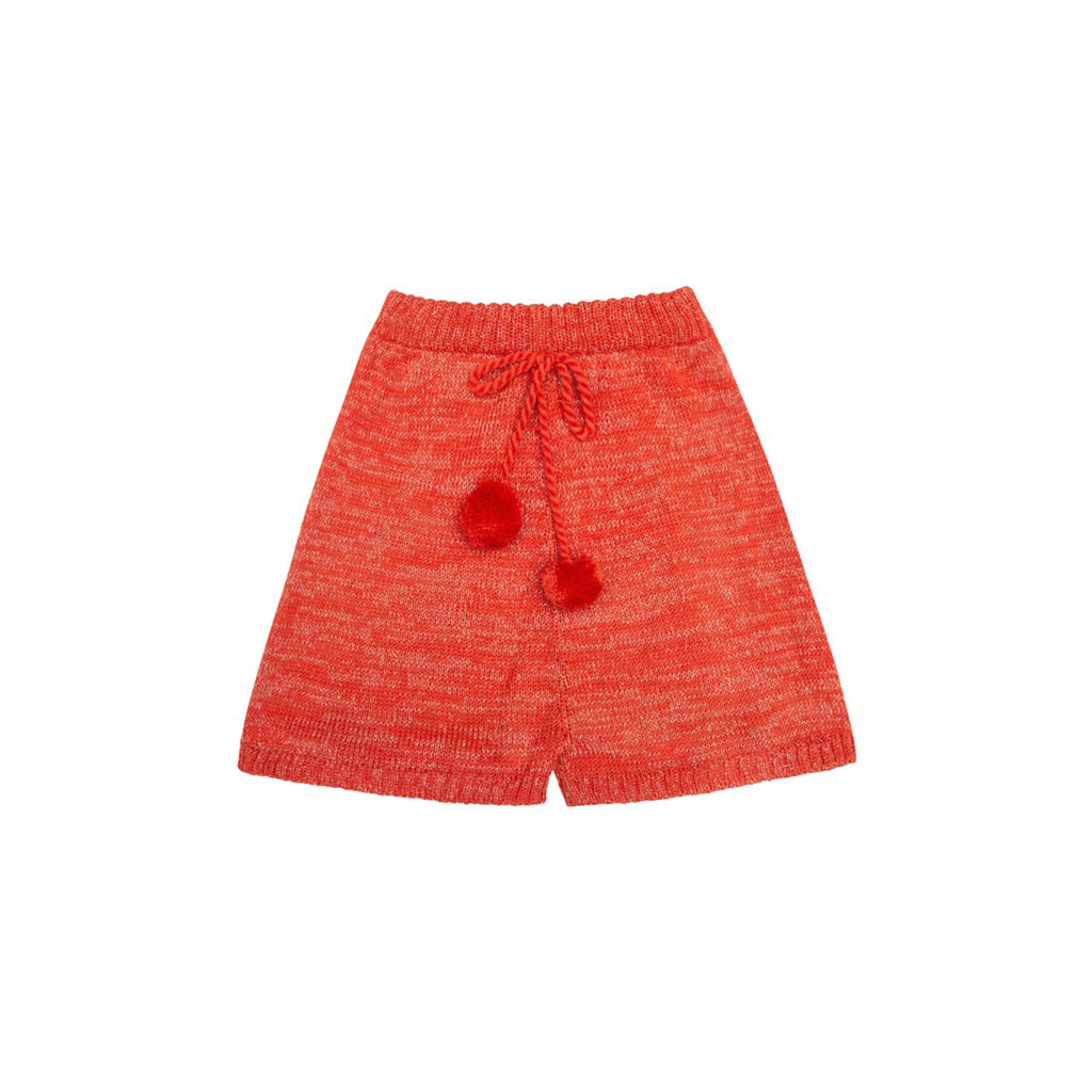 Desert Knitted Red Short