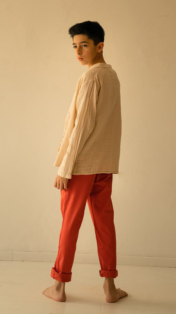Desert Trouser Red