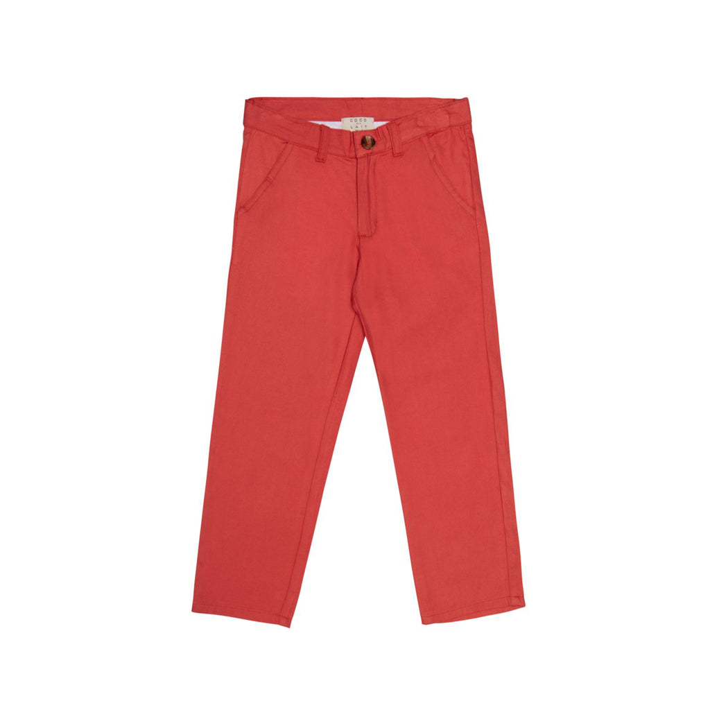 Desert Red Trousers