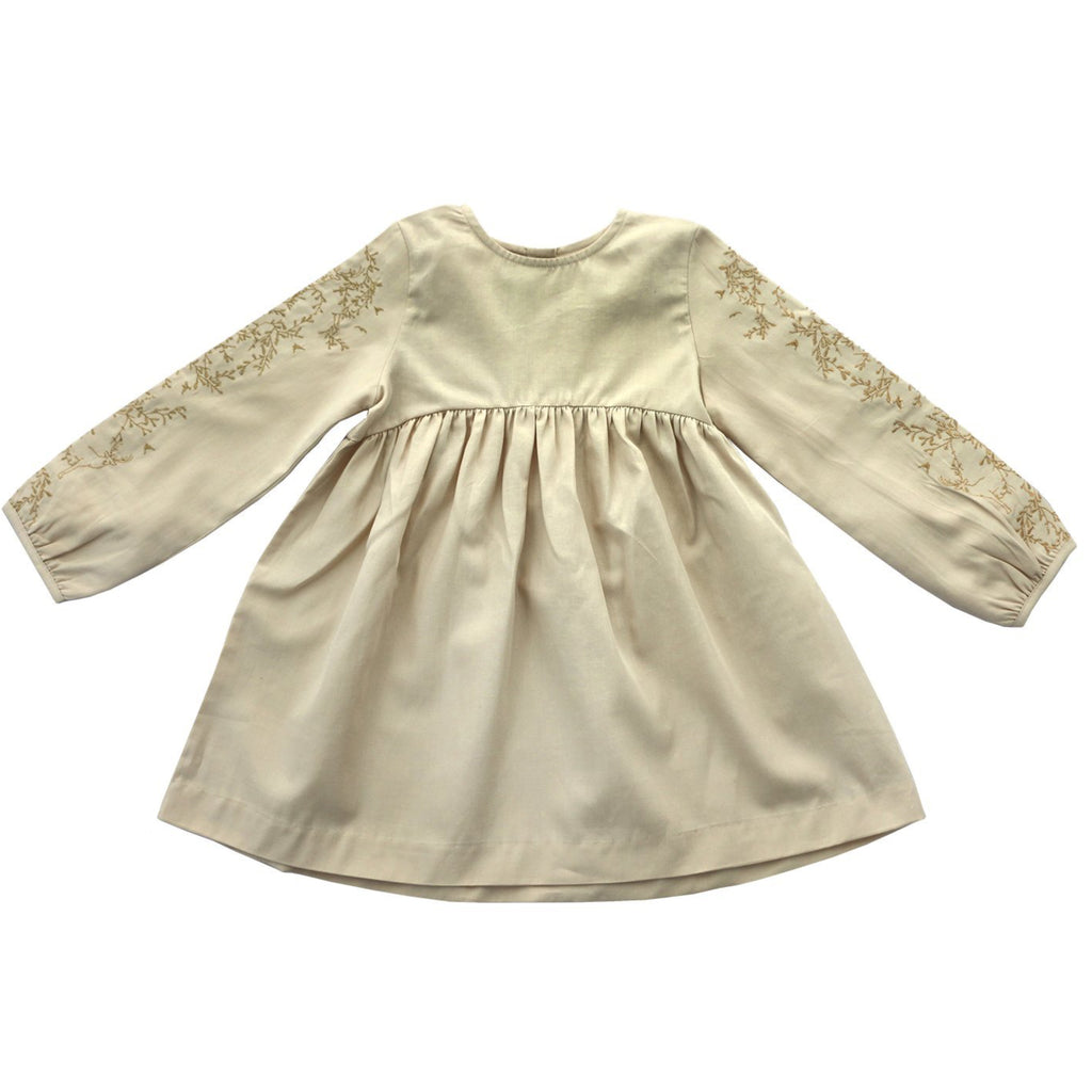 Escarlata Beige Dress
