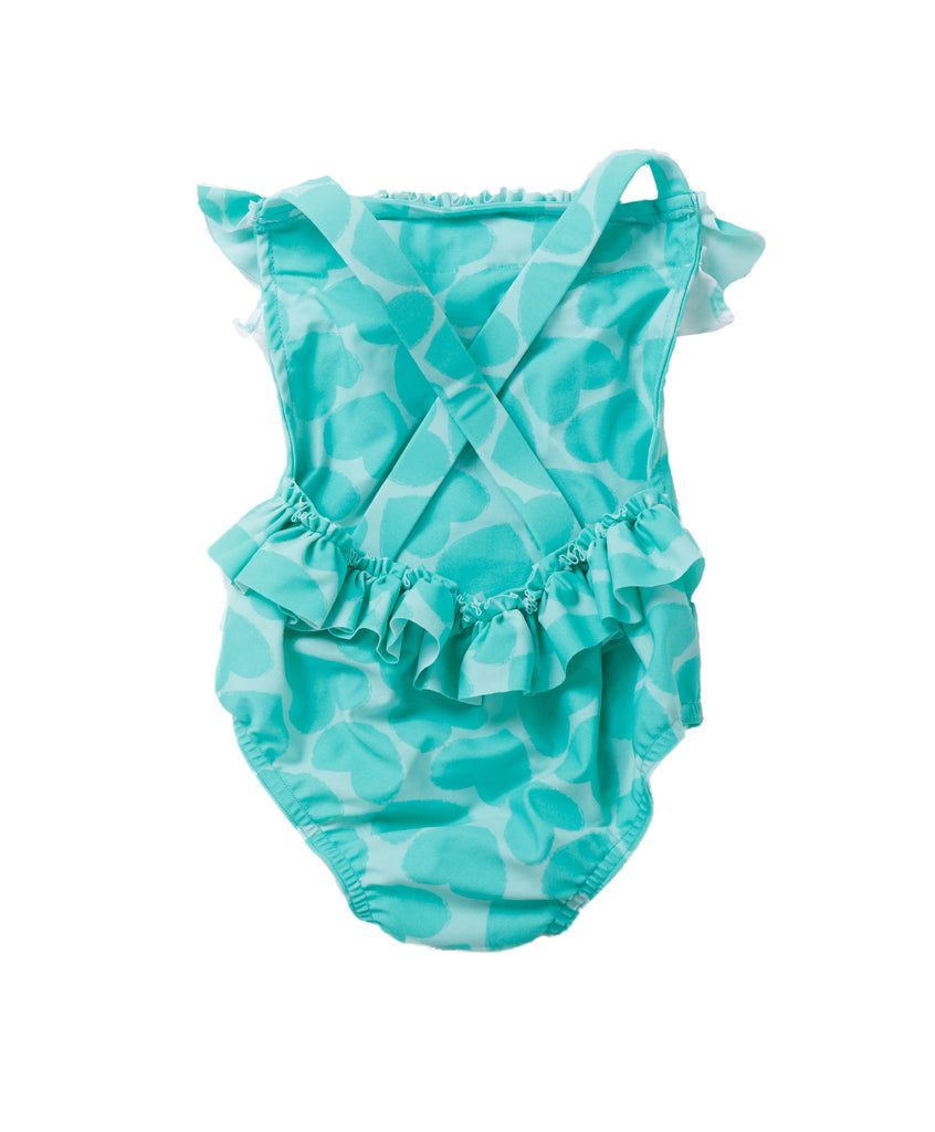 Mint Baby Overall Swimsuit