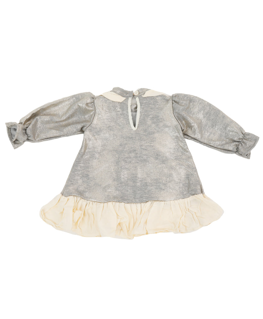 Silver Baby Dress