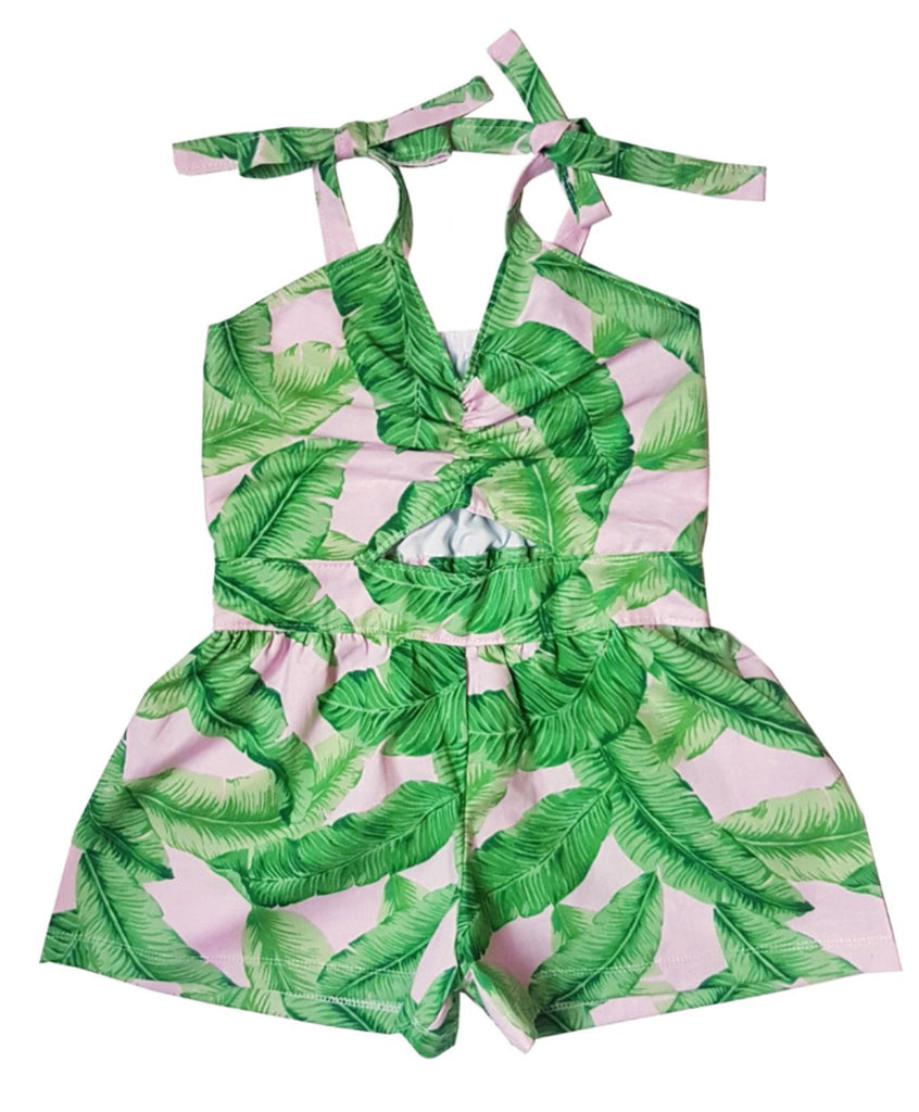 Summer Palms Jumpsuit