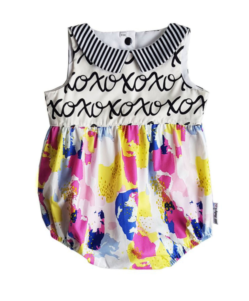 XoXo Watercolour Romper