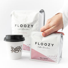 Floozy coffee at Doughheads