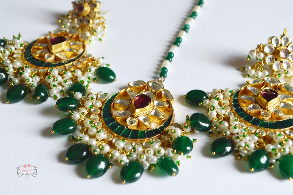 Earrings & Tikka set