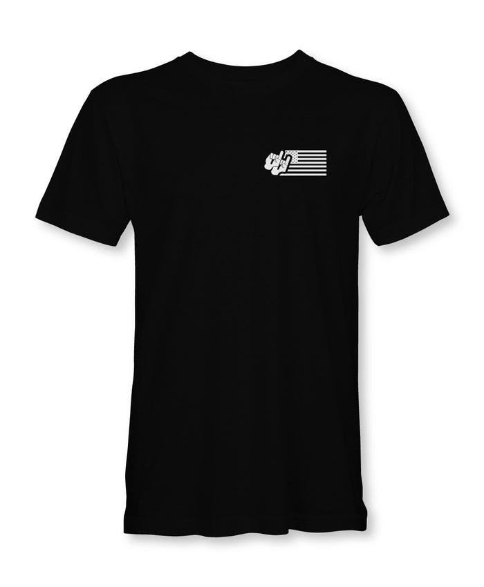 Dynamic Flag Tee / Short Sleeve / Black