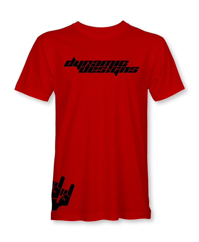 Dynamic Designs Tee / Red