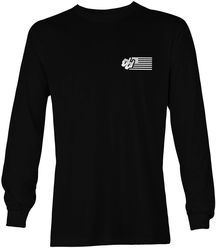 Dynamic Flag Tee / Long Sleeve / Black