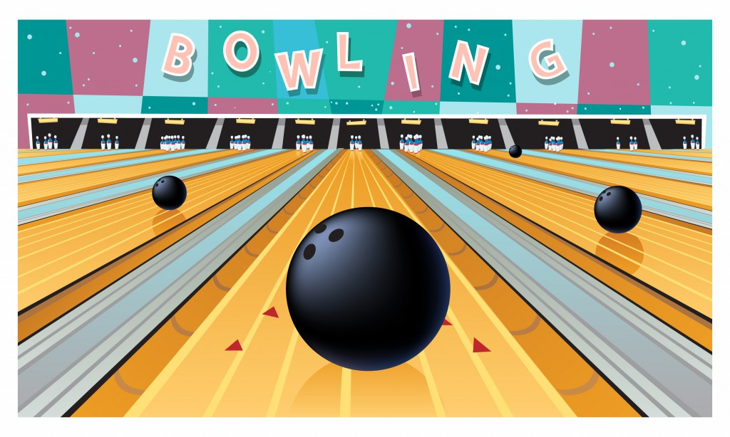 1 Adult/3 Youth for 1 Hour Bowling Session