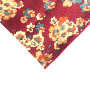 Bennett Floral Pocket Square