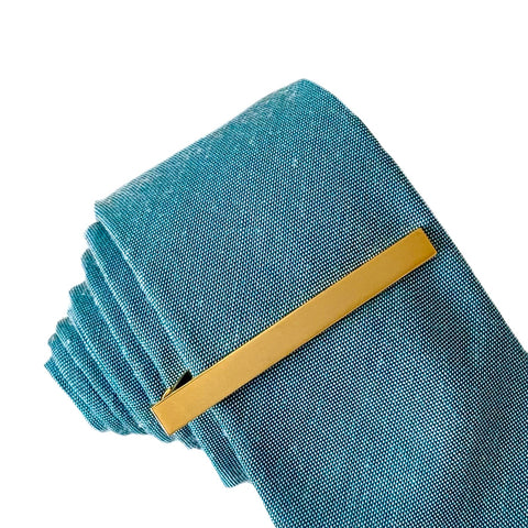 Kent Tie Bar in Gold