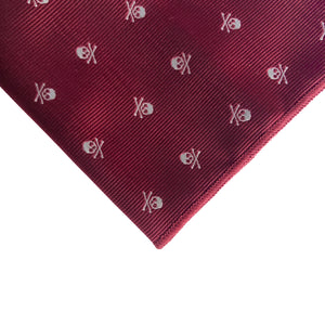 Sussex Skull Pocket Square
