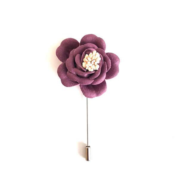 Edmond Flower Lapel Pin