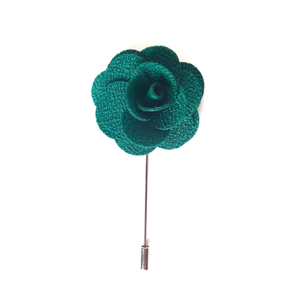 Ellis Flower Lapel Pin