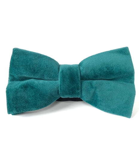 Simon Bow Tie in Teal