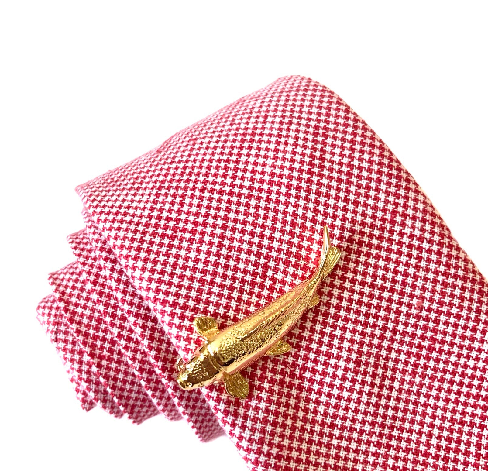 Felix Fish Tie Clip in Gold