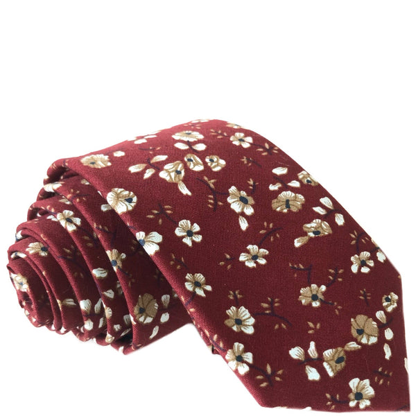 Asher Floral Tie