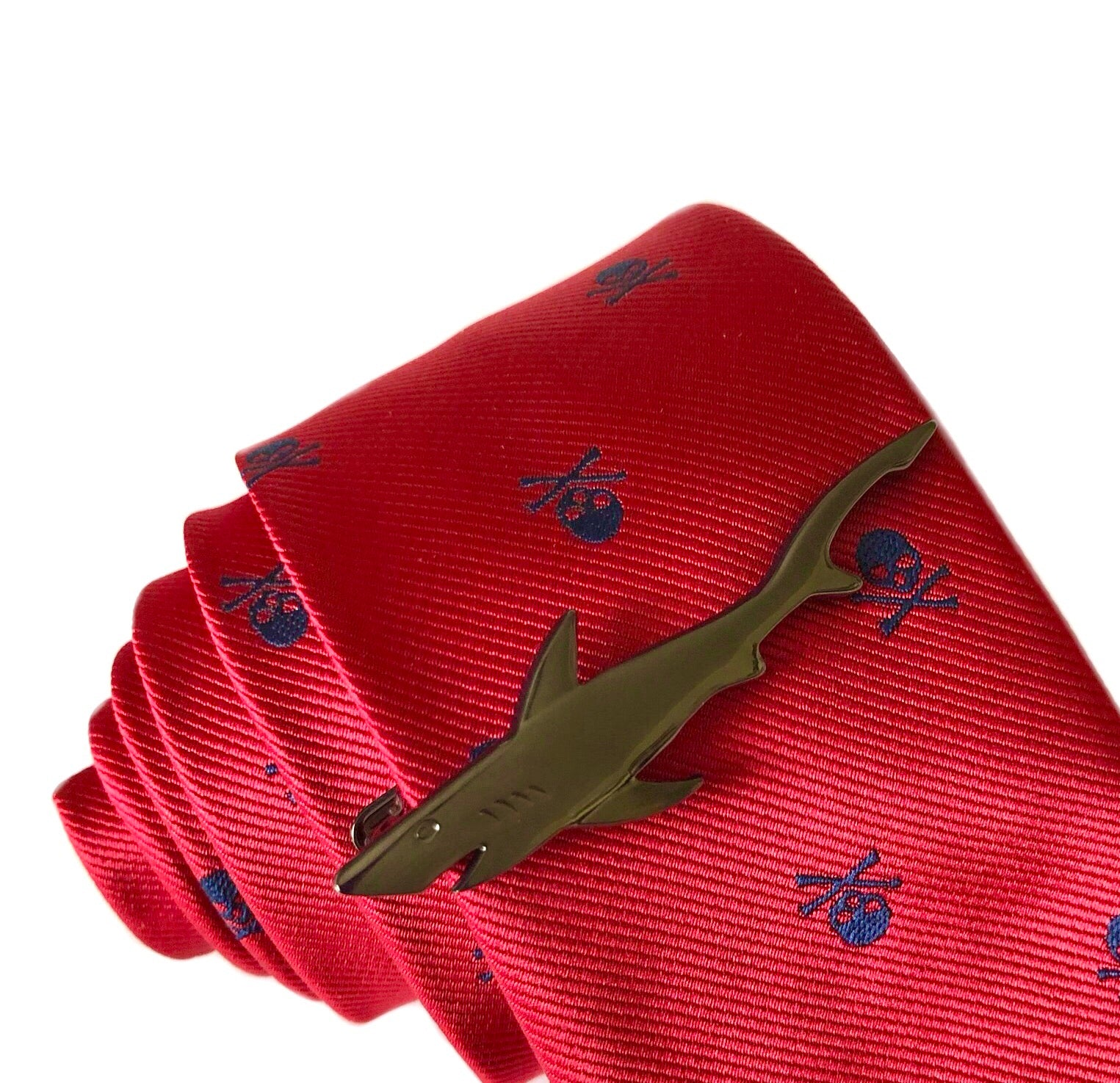 Scottie Shark Tie Clip