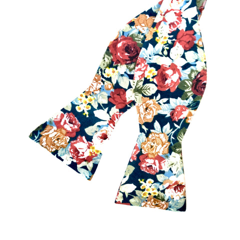 Marshall Floral Bow Tie