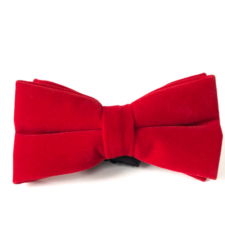 Simon Bow Tie in Red