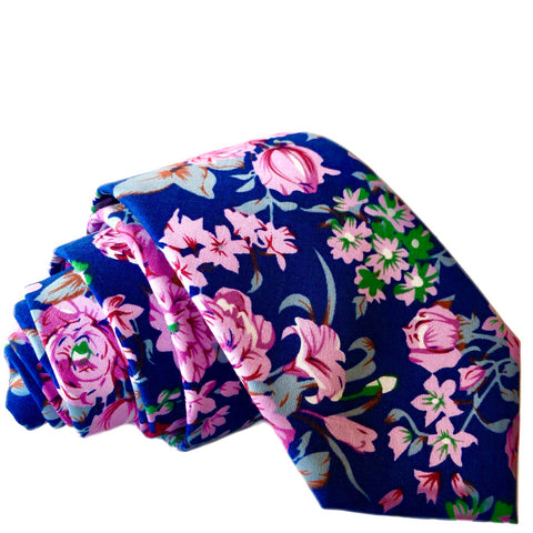 Chase Floral Tie