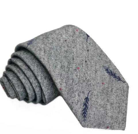 Dean Tie in Grey