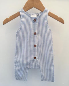Stripe cotton Romper