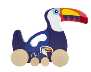 Push and Pull Toucan