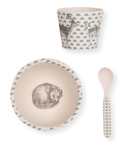 Baby Fox 3 Piece Dinnerset