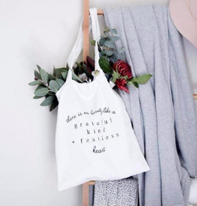 Greatful Kind Fearless | Tote Bag
