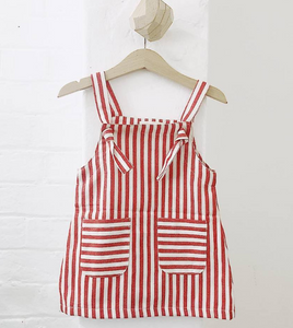 Retro Stripe Pinafore