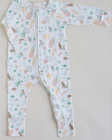 Outback Dreamers | Sleep zip Suit