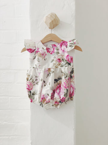 Rose Flutter Playsuit