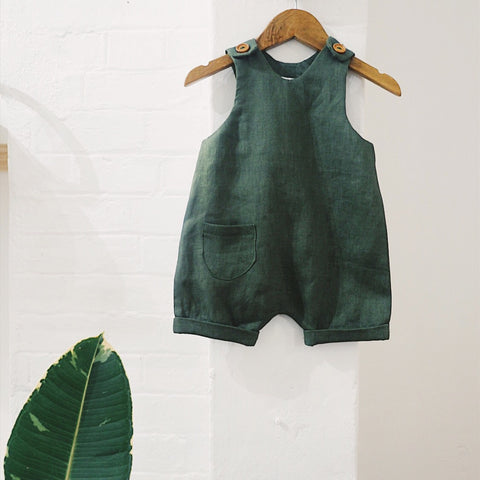 Morgan Overalls (Green)