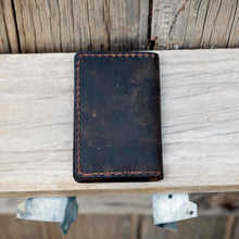 Buffalo Hide Traditional Leather Card Holder