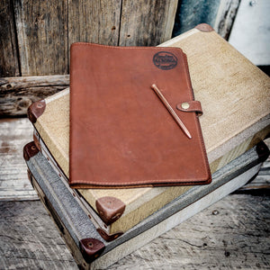 Leather Journal Cover/Compendium - A4