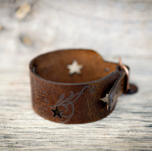 Leather Jewellery /Wrist Straps/Cuffs - Prices from $42 -$60
